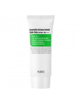 Солнцезащитный крем с центеллой PURITO Centella Green Level Safe Sun SPF50+ PA++++