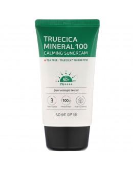 Солнцезащитный крем SOME BY MI Truecica Mineral 100 Calming Suncream SPF50+ PA++++ 50ml