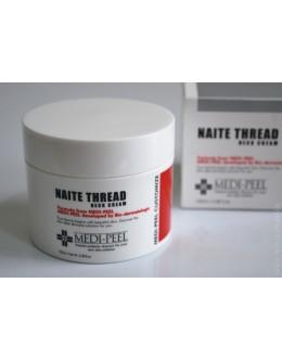 Крем с пептидами для зоны декольте и шеи MEDIPEEL Naite Thread Neck Cream