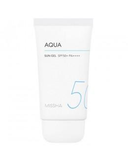 Солнцезащитный гель MISSHA All-around Safe Block Aqua Sun Gel SPF50+ PA+++
