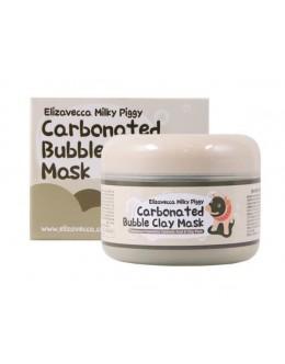 Очищающая маска пузырьково - глиняная ELIZAVECCA CARBONATED BUBBLED CLAY MASK