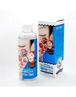 Тоник - пиллинг с кислотами ELIZAVECCA HELL PORE CLEAN UP AHA FRUIT TONER