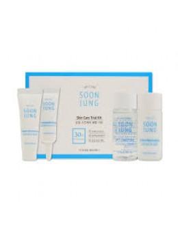 Набор миниатюр для чувствительной и проблемной кожи Etude House Soon Jung Skin Care Trial Kit