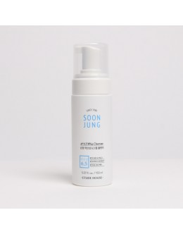 Пенка для умывания, для чувствительной кожи  ETUDE HOUSE Soon Jung pH 6.5 Whip Cleanser
