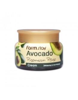 Питательный крем для лица с авокадо FARM STAY  Avocado Premium Pore Cream