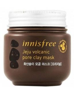 Очищающая маска с вулканической глиной INNISFREE  JEJU VOLCANIC PORE CLAY MASK