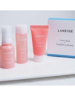 Набор мини версий для чувствительной кожи LANEIGE Fresh Calming Trial Kit (3items)