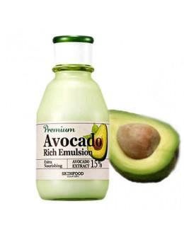 Увлажняющаая и питательная эмульсия SkinFood Premium Avocado Rich Emulsion 140m